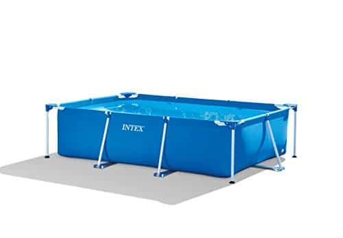 Piscina con estructura rectangular Intex 28272, 3834 litros, azul, 300 x 200 x 75 cm