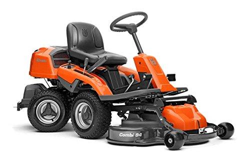 Cortacésped auto-montado Husqvarna Rider R216, ruedas motrices, arranque: eléctrico 9600 W, ancho de corte: 94 cm