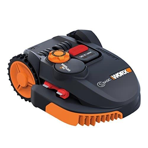 Cortacésped robótico Worx WR105SI, naranja