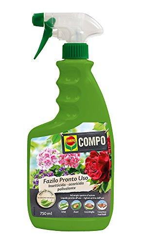 Compo 1692502005 Fazilo, Insecticida acaricida listo para usar para plantas ornamentales en el hogar y el jardín, 750 ml, Transparente, 5x8.5x13 cm