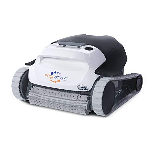 MAYTRONICS Dolphin PoolStyle AG Digital - Robot limpiador eléctrico para piscinas de hasta 8 Mt de limpieza del fondo y primeros 30 centímetros de WALLS Exclusive Italia