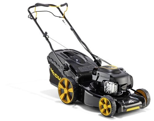 McCulloch 00096-71.739.01 M46-140WR Segadora mediana, gasolina, velocidad única, ancho de corte 46 cm