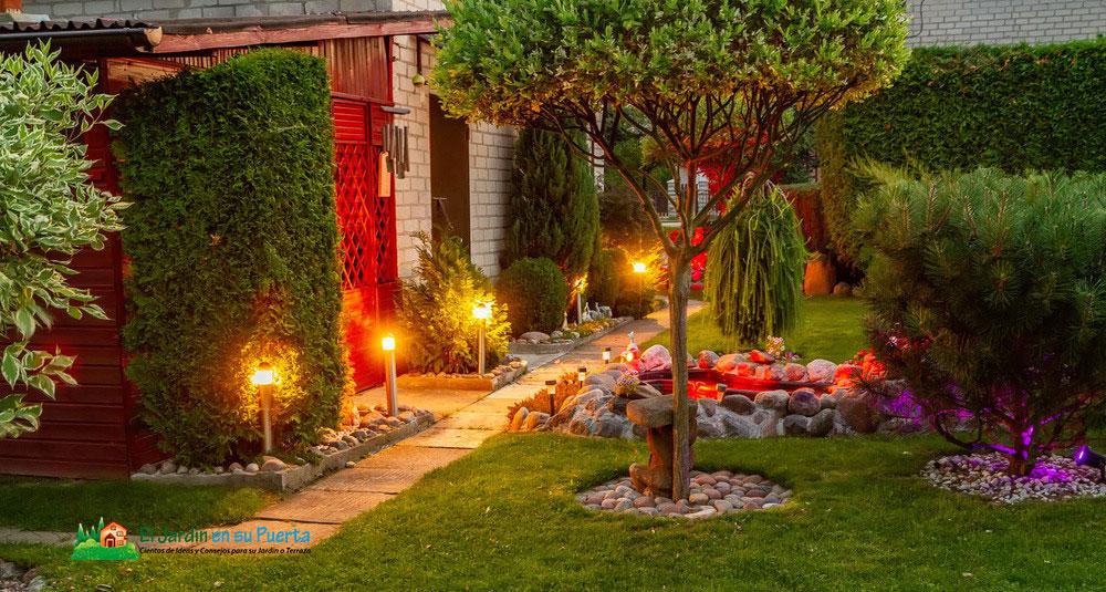 Razones por las que la iluminación LED es beneficiosa para su jardín